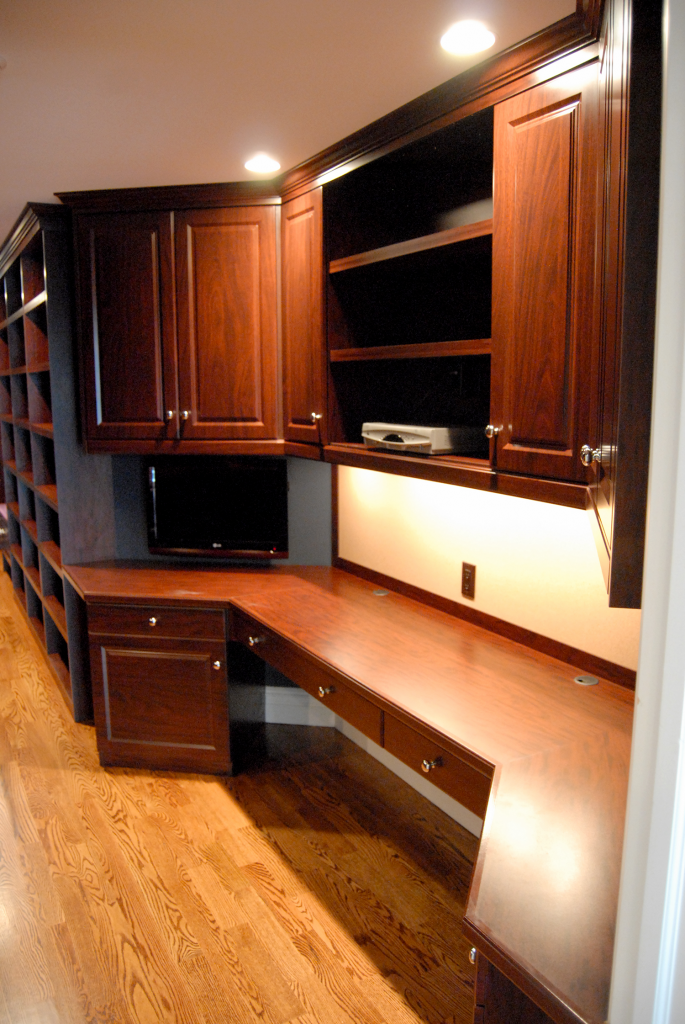 Office And Library Cabinetry Affordable Closets Plus